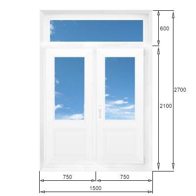 Балконная дверь: двухстворчатые, штульповые, антимоскитные и.
