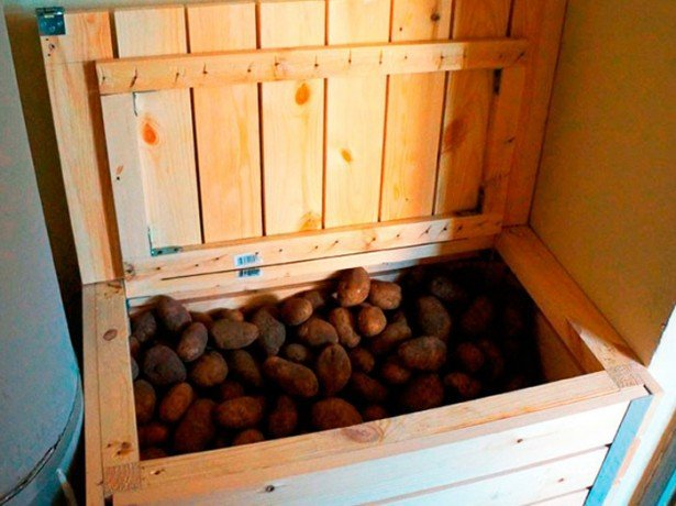 Как сделать закром для картошки 59