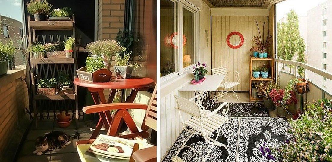 Интерьер балкона или лоджии в квартире: идеи дизайна небольш.