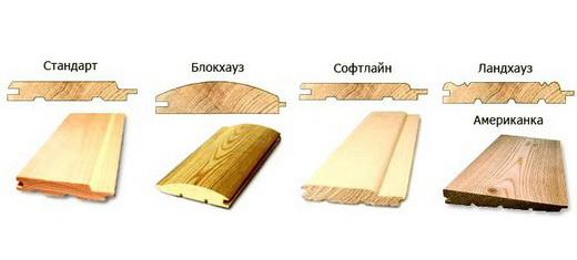 Вот основные варианты отделочного материала