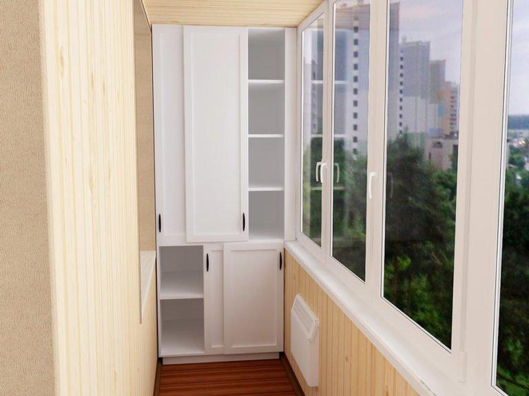 Самый дешквый балконный шкаф.