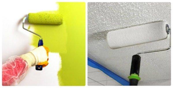 Декоративная отделка стен, выровненных ГКЛ