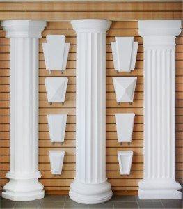 Декоративные колонны.