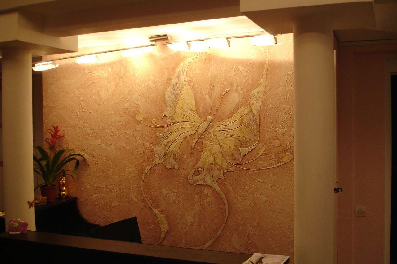 Декоративное покрытия стен своими рука
