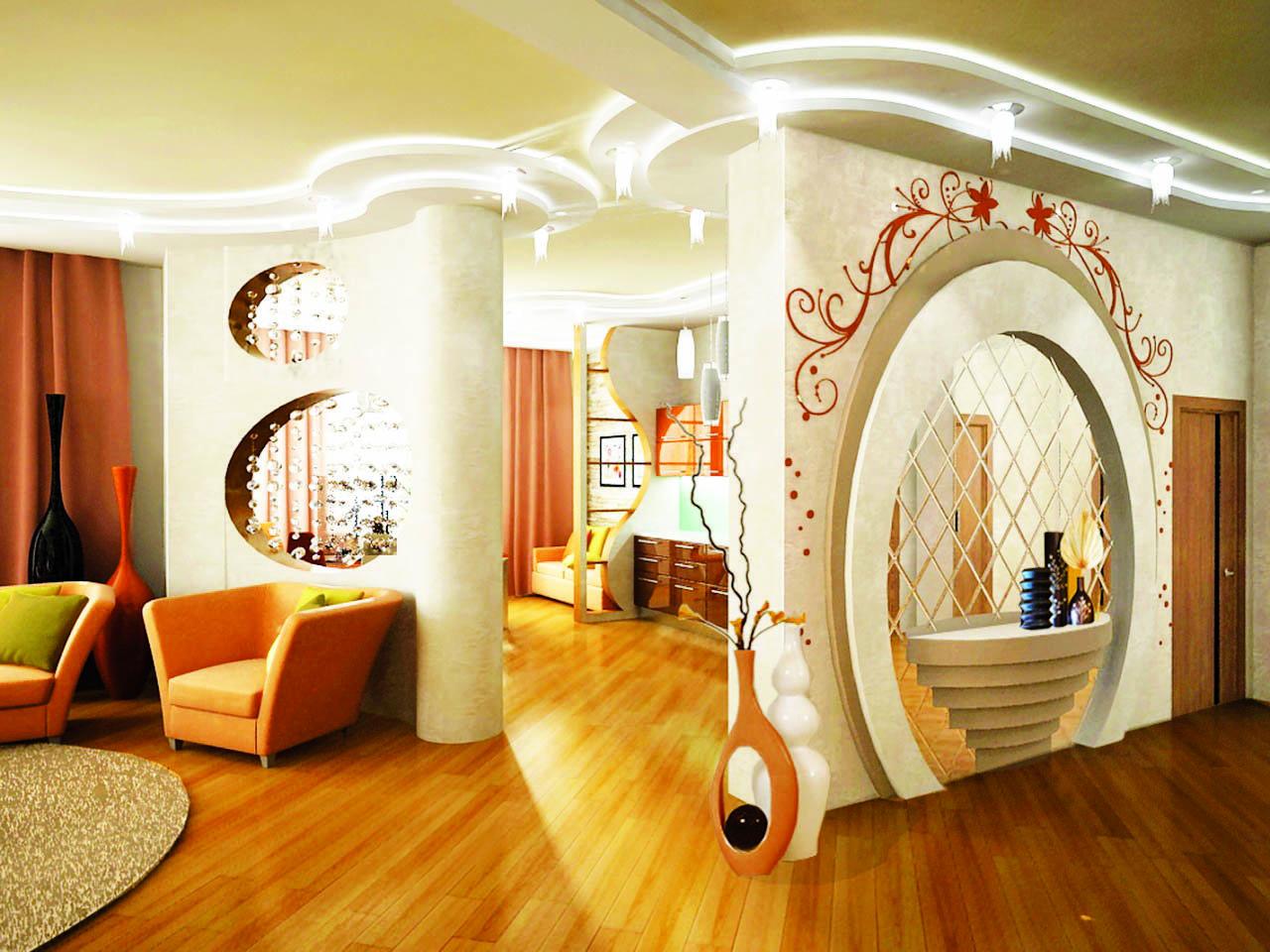 Арки дизайн в квартире