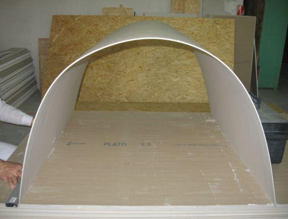 Как согнуть гипсокартон в домашних условиях: инструкция как сделать полукруг, видео и фото Obustroeno.Com