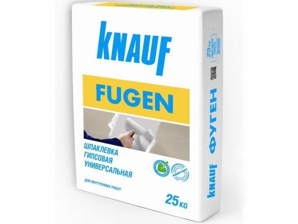 «Фуген» можно использовать и как шпаклевку, и как клеевой состав
