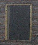 Готовая окосячка для пластикового окна.