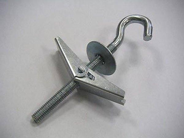 Крюк с металлической цангой для тяжёлой люстры