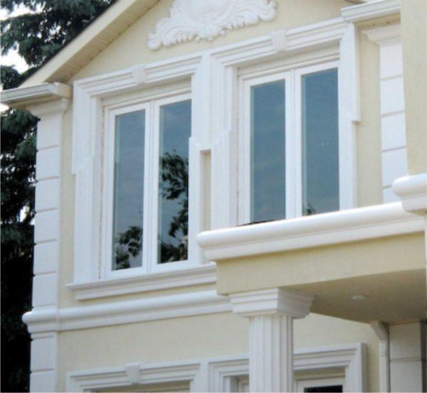 Лепные декоративные элементы фасада