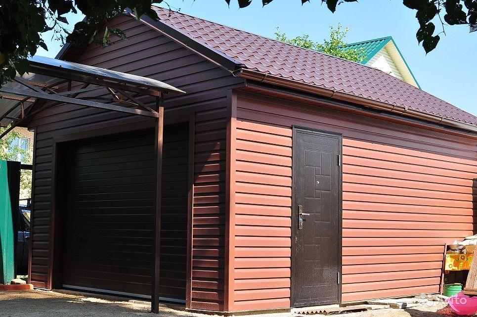Чем отделать металлический гараж снаружи авито киреевск купить гараж