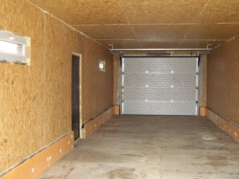 Чем обшить металлический гараж изнутри купить гараж в сочи адлер