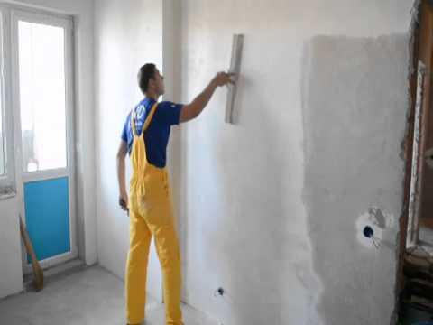 Оштукатуривание гипсокартона под покраску