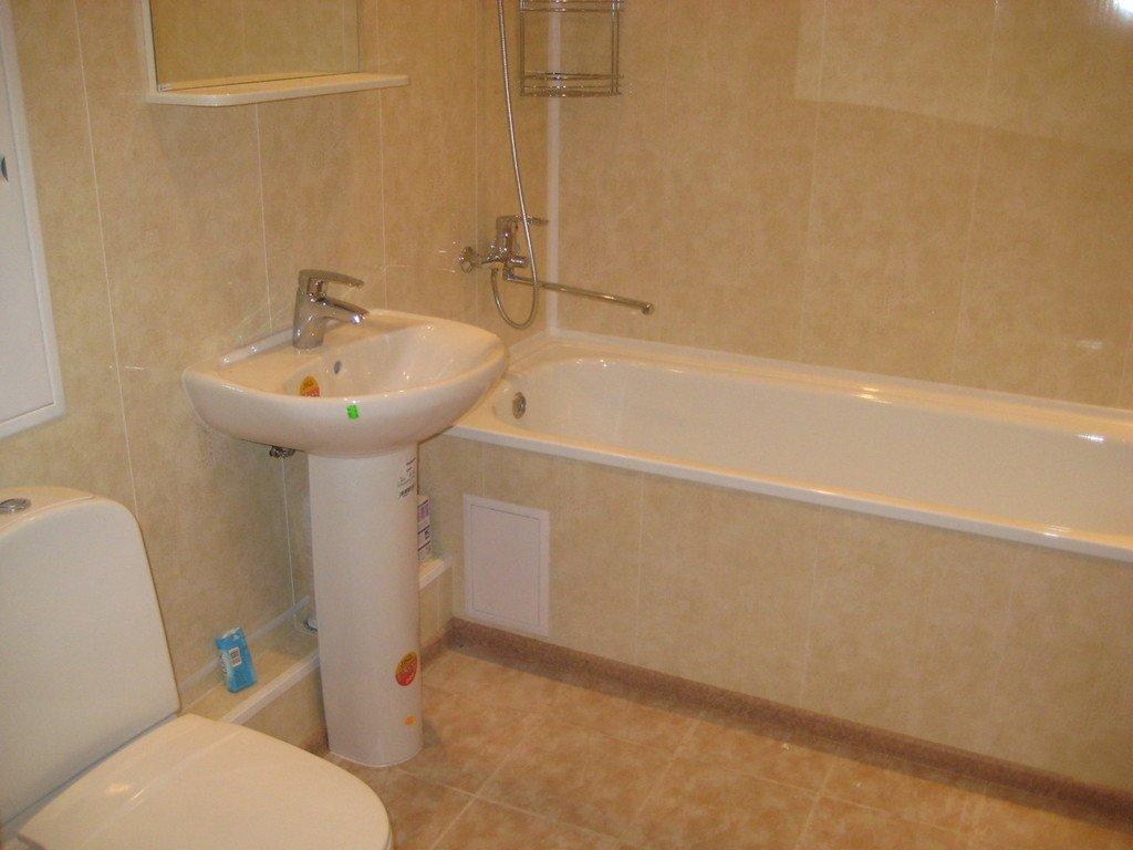Ремонт ванной своими руками пластиковые панели