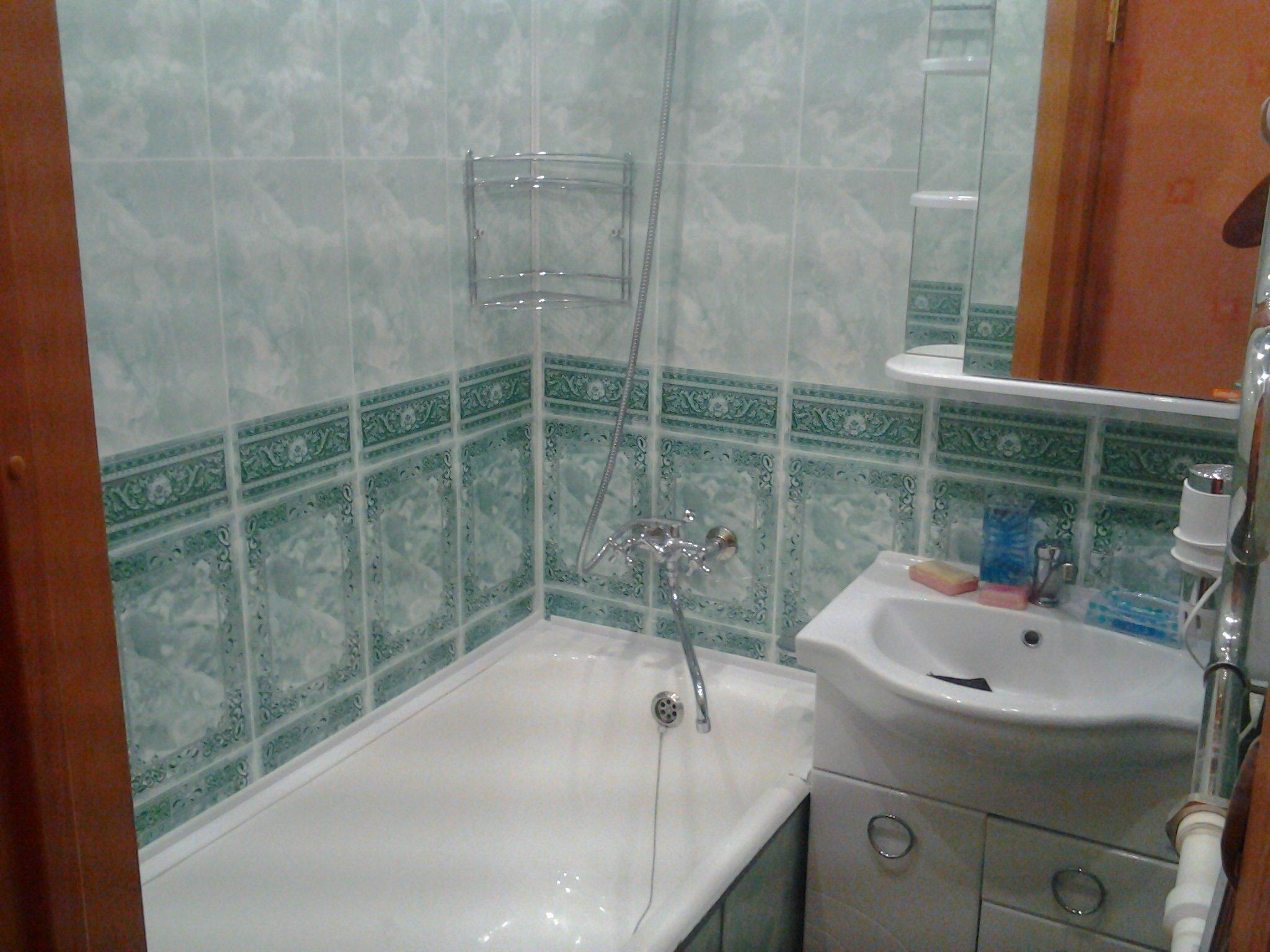 Панели пвх стеновые в ванной своими руками 918