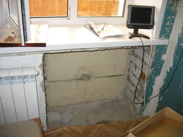 Холодильник у окна: 3 способа монтажа obustroeno.com.