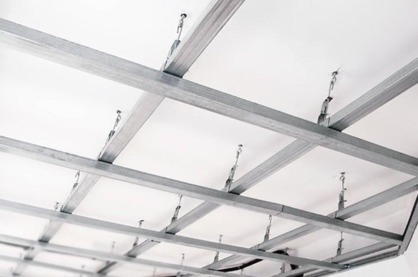 Как собрать подвесной потолок своими руками