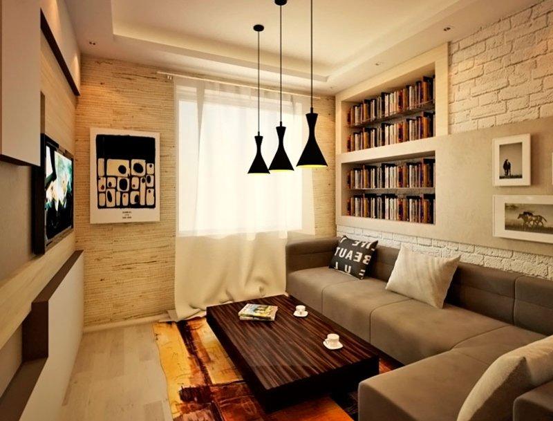 Дизайн и отделка гостиной