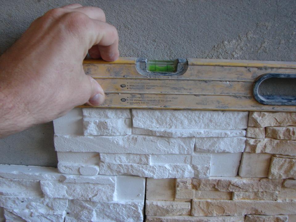 Декоративный камень пошаговая инструкция фото