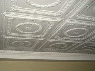 Пример использование инжекционной плитки на потолке
