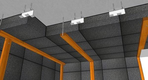 Схема крепления панелей из пеностекла