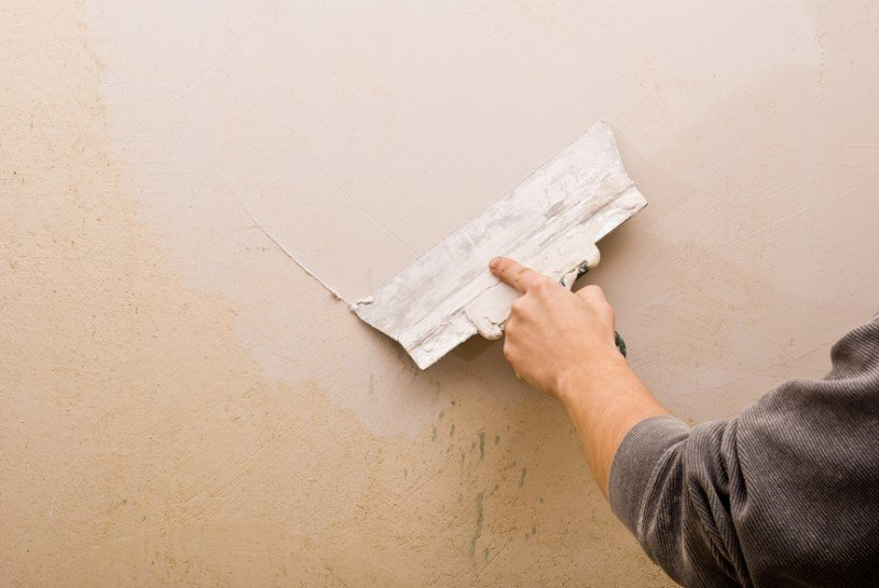 Как шпаклевать стены в картинках