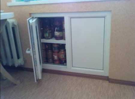 Современная версия старого холодильника.