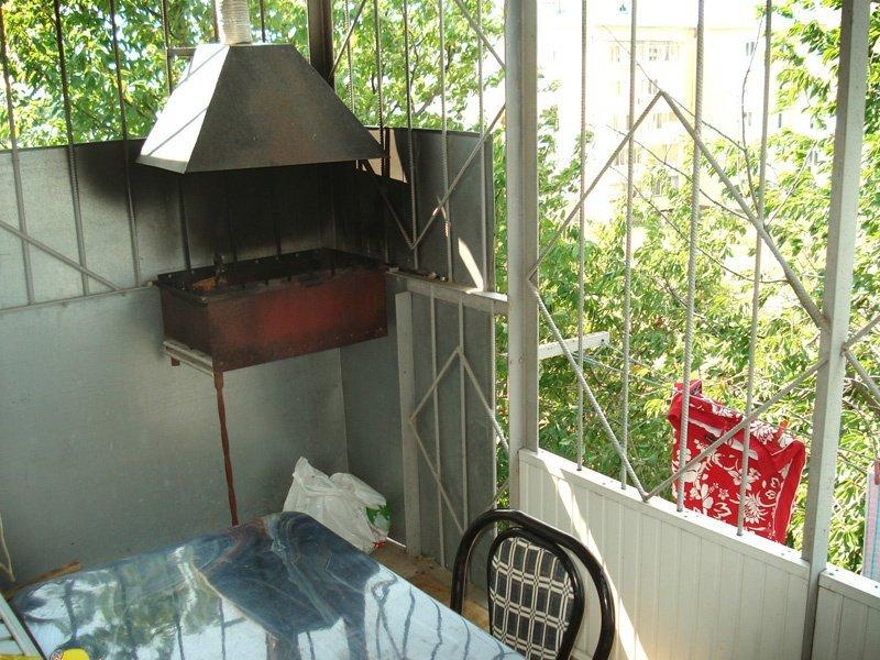 Как сделать мангал на балконе
