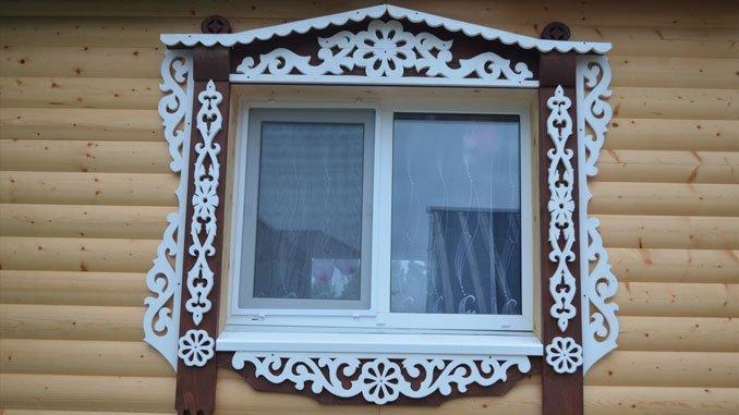 Наличники на окна в деревянном доме: пластиковые, резные и другие варианты, шаблоны, видео и фото Obustroeno.Com