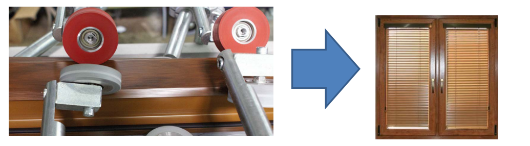 Технология ламинирования профиля и результат обработки