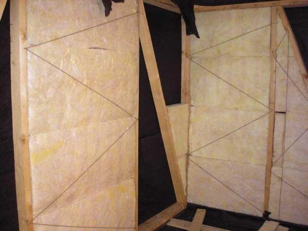 Теплоизоляция плитами из минерального волокна