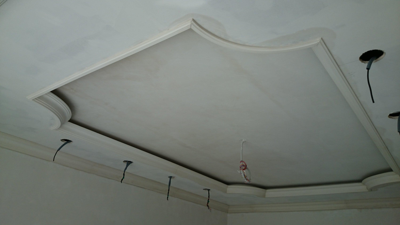 Схема двухуровнего потолка из гипсокартона фото 249