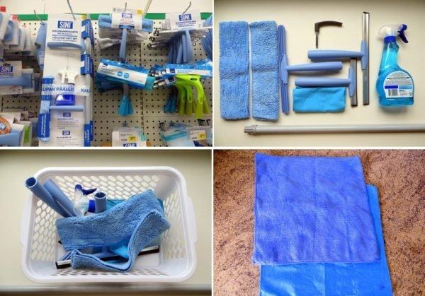 Устроим тест-драйв набора для мытья окон