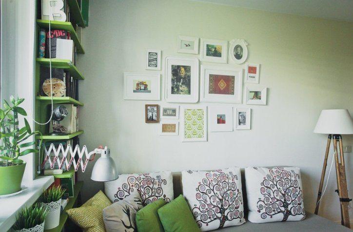 Бюджетный ремонт в однокомнатной квартире у молодой семьи