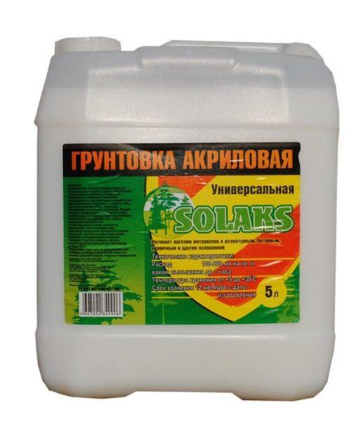Акриловая грунтовка не выделяет токсины и отличается высокой скоростью застывания