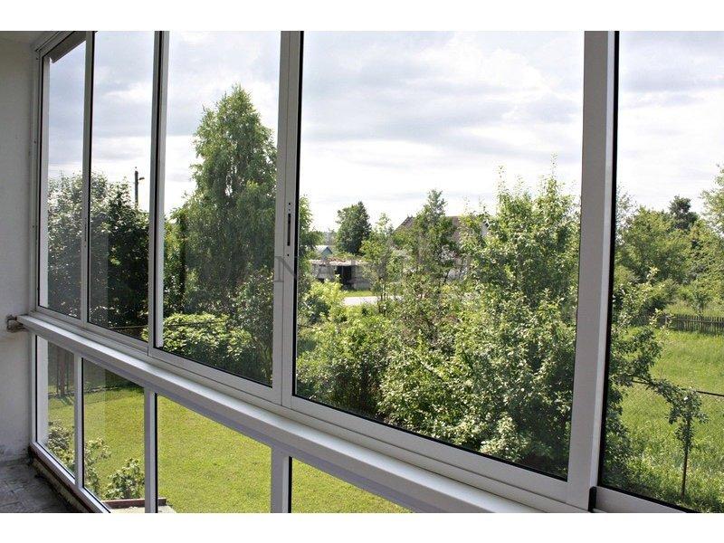 Раздвижные алюминиевые балконы симферополь крым.