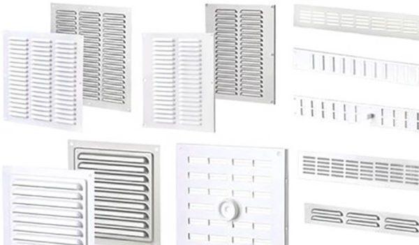 Ассортимент вентиляционных решеток сейчас очень широк.