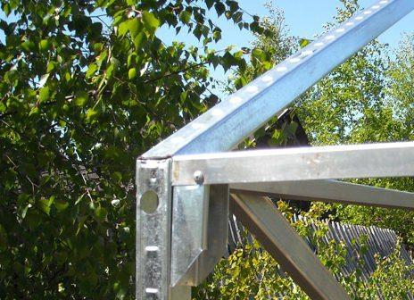 Теплица из металлопрофиля своими руками пошаговая инструкция сборки изготовление теплицы из оцинкованного профиля для гипсокартона