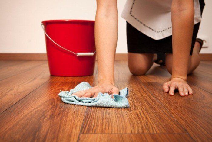 Как отмыть грунтовку с ламината