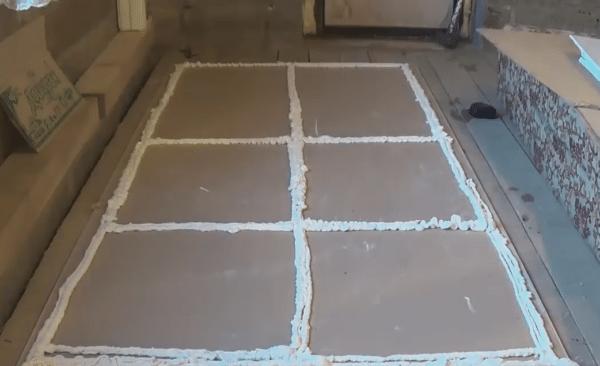 Плиточный клей для гвл