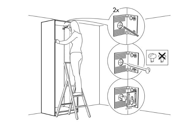 Как повесить кухонные шкафы на стену (18 фото): на монтажную рейку, планку, шину