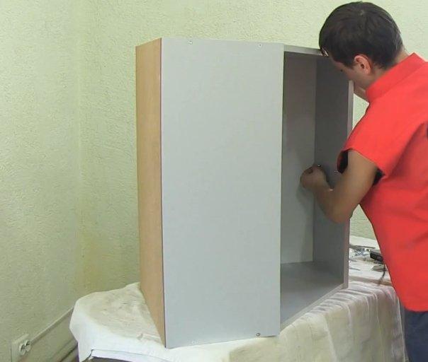 Угловой кухонный шкаф на кухню - их виды и внутренне устройство