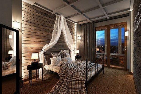 Балдахин украсит спальное место.