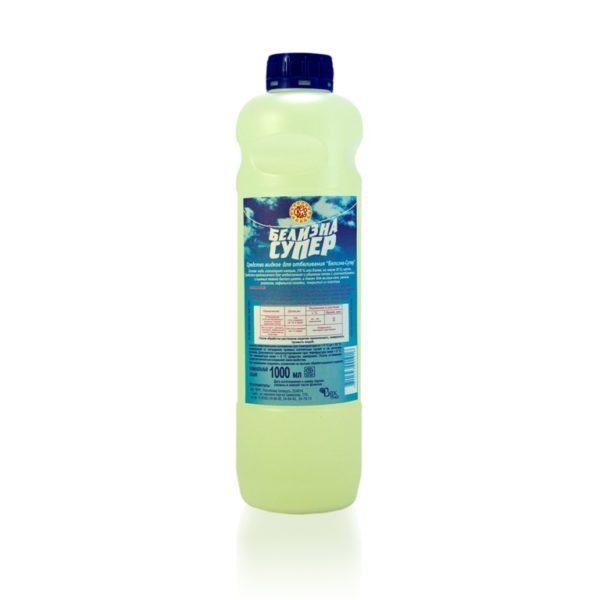 Белизна - эффективное и безопасное моющее средство для окрашенных стен.