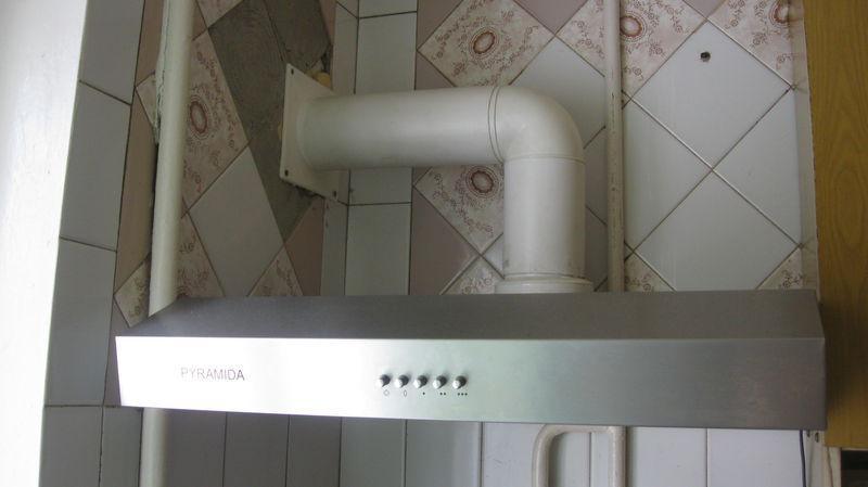 Как правильно сделать газовую вытяжку 50