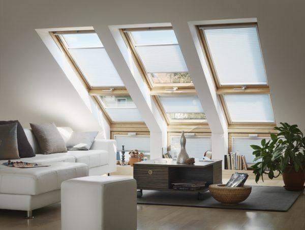 Большие окна - светлое помещение!