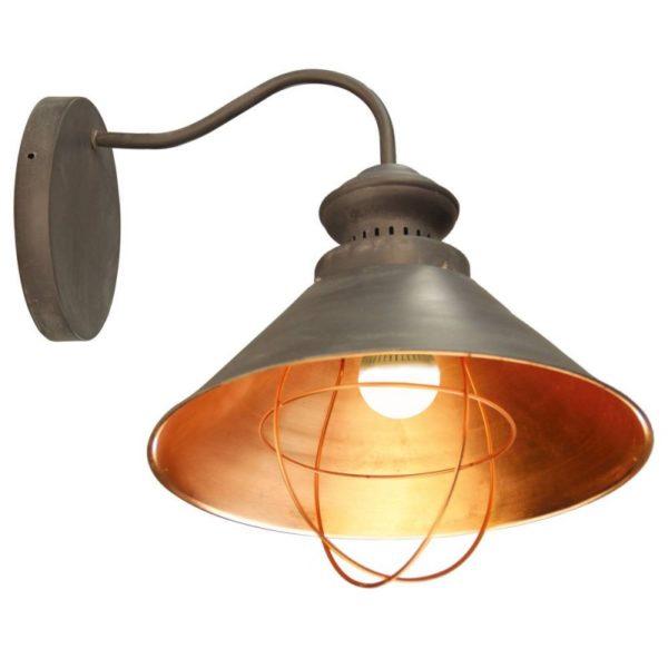 Бра в виде уличного фонаря для кухни поможет сделать ваш ужин более романтичным.