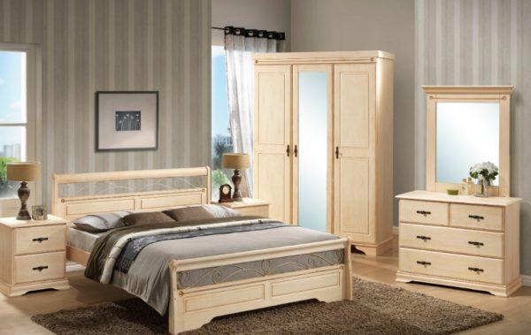 Часто шкаф входит в комплект мебели, что существенно упрощает выбор