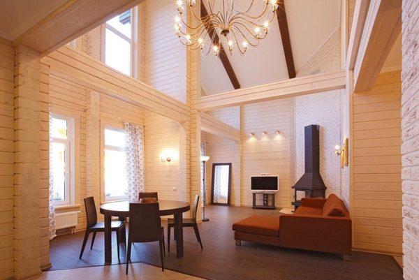 Чем больше окна, тем лучше освещено помещение.