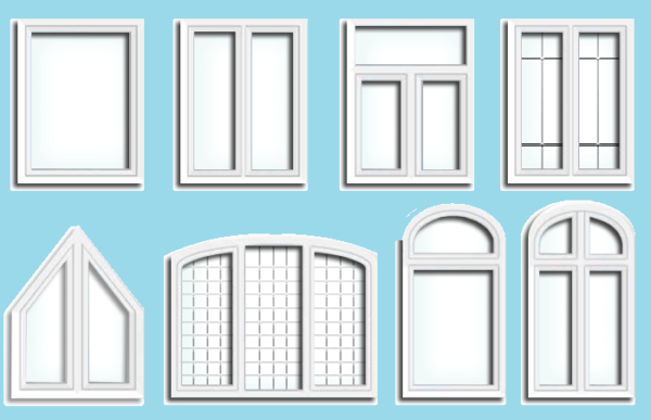 Чем дальше форма окна от классического прямоугольника, тем выше цена. Если вам нужна арка в сталинку, будьте готовы к изначальной цене добавить еще 30-40%